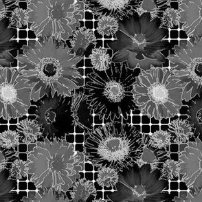 _Flowers grid-black