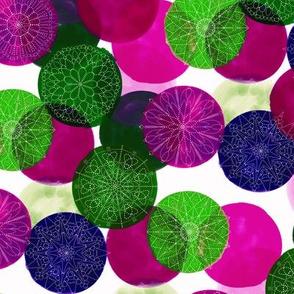 Watercolor Mandala Jewel