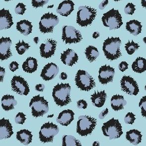 Cheeeetah blau animal print