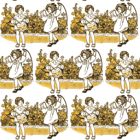 Little Drummer Boy on Playground fabric by edsel2084 on Spoonflower - custom fabric