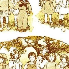 1916 era Children at Play