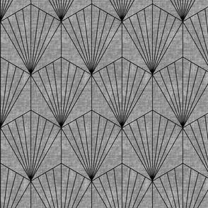 Hexagon - Gray Texture