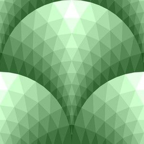 08096318 : faceted scales : faded green