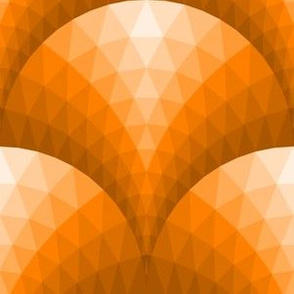 08096382 : faceted scales : orange ginger