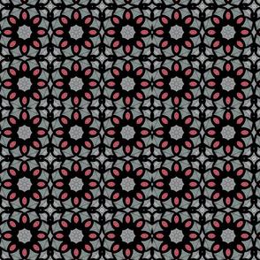 Watercolor geometrical pattern
