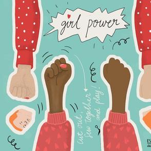 Girl Power Cut & Sew