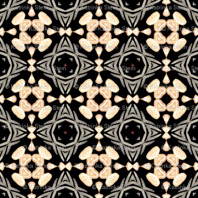 Celtic patterns watercolor