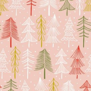 Oh' Christmas Tree - Blush Pink