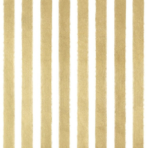 "1"" Gold Stripes - vertical - faux metallic gold"