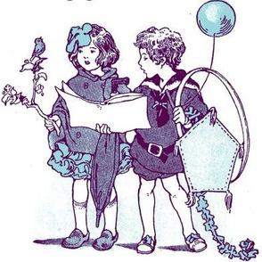 Party Kids (blue/purple)