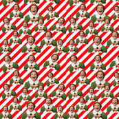 buddy the elf fabric