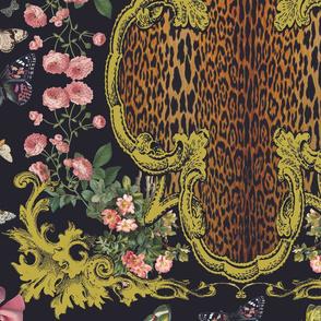 Leopard Quatrefoil