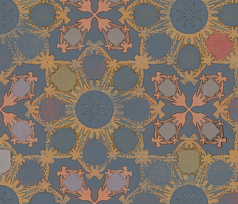 Sovereign Archipelago (1) fabric by david_kent_collections on Spoonflower - custom fabric