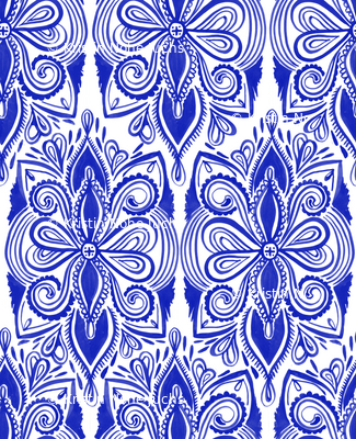 Tapestry - Ultramarine Blue
