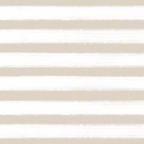 ".5"" Pastel Paint Stripe - Beige/white"