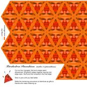 Tetrahedron Pincushions