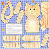 Marigold Cut and Sew Cat Doll