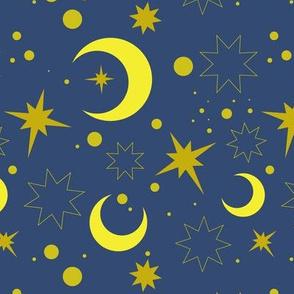 Moroccan night sky