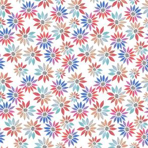 Bold Watercolor Daisies - Small