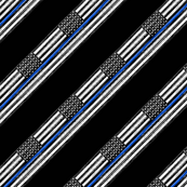 thin blue line - diagonal