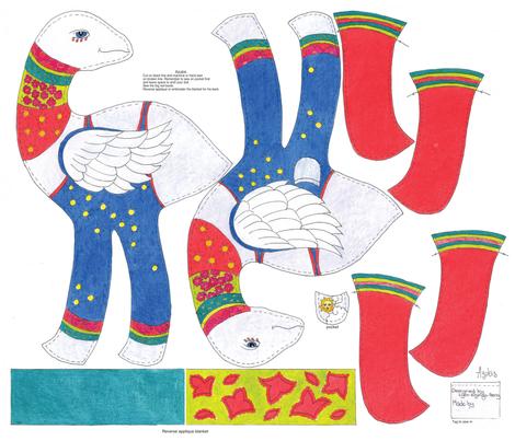 Azubis modified fabric by lynnelzingahenry on Spoonflower - custom fabric