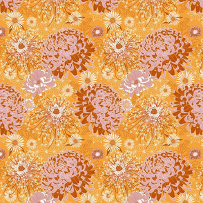 Japanese Chrysanthemums (saffron)