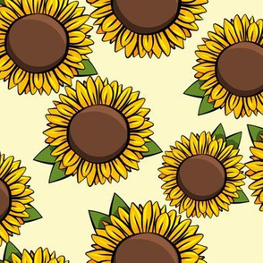 Sunflowers - yellow