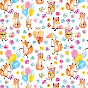 Fox Love - Small on White