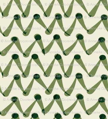 zigzag green