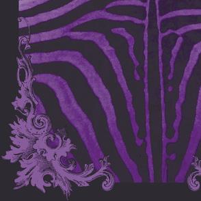 Zebra Purple