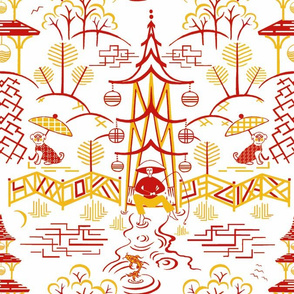 Stockwell Stylized red