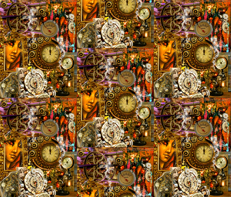 Full Steam Ahead fabric by whimzwhirled on Spoonflower - custom fabric