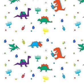 Dinos & Dreidels Bright