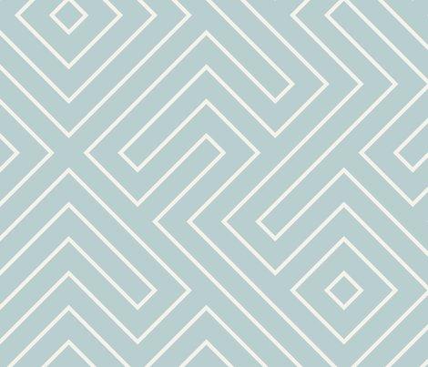Tribal_maze_cream_on_aqua_shop_preview