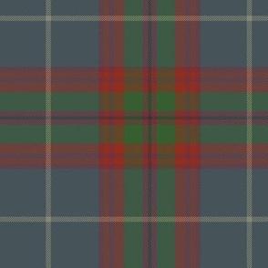 "Edinburgh tartan, 6"" faded"