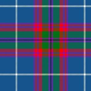 "Edinburgh tartan, 6"" bright"
