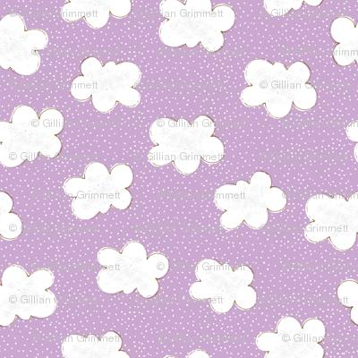 Clouds on Purple