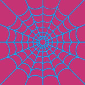 Spider-gwen round web