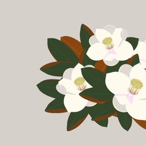 magnolia placemat-warm grey D6D0CB