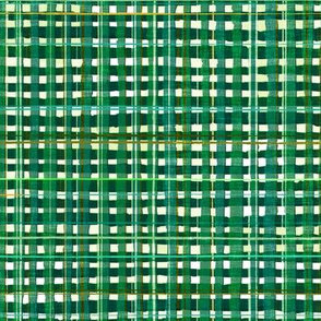 Noël Plaid (green) MED