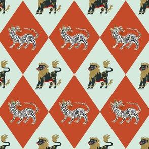 Night Lions & Tigers