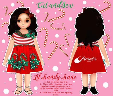 Lil_Kandy_Kane fabric by memourii_fabrics on Spoonflower - custom fabric