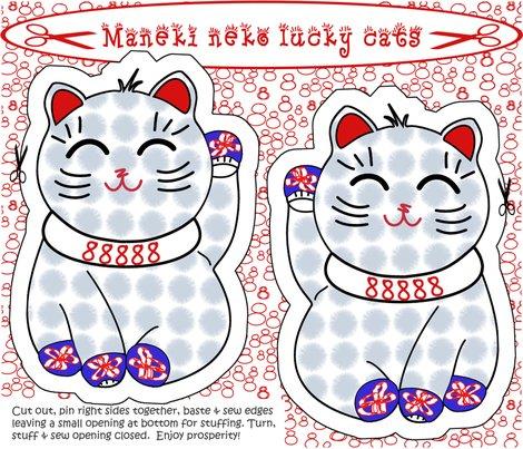 R3maneki_neko_lucky_cat_cut_sew_copy_shop_preview