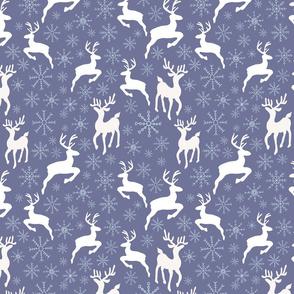 Purple Reindeer sparkles