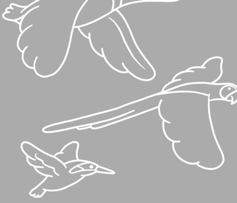 Fly Free fabric by ohjaye on Spoonflower - custom fabric