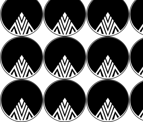 Diamond Mountain fabric by theitsiegypsy on Spoonflower - custom fabric