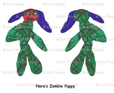 Nora's Zombie Puppy
