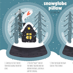 Snowglobe Pillow
