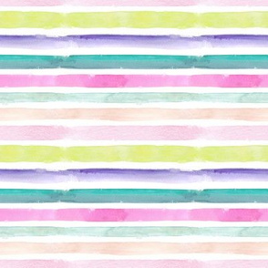 AlliDomo Watercolor Stripe