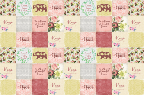 Nana Bear fabric by lacklandacres on Spoonflower - custom fabric